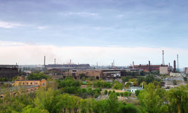 Industrial zone Royalty Free Stock Photo