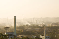 Industrial zone Stock Images