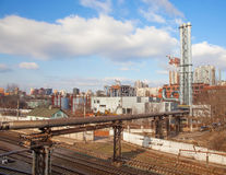 Industrial zone Stock Photography