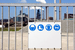 Industrial Zone Royalty Free Stock Photography