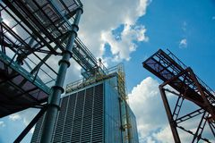 Industrial zone Stock Image