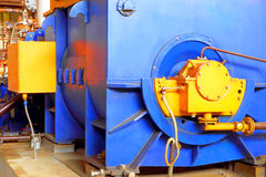 Industrial zone.Factory equipment Stock Photos