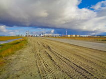 Industrial zone in the Far North Royalty Free Stock Photography