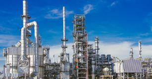 Free Industrial Zone,oil Refinery,oil Pipeline Stock Photography - 111776392