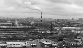 Industrial Zone Royalty Free Stock Image