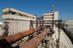 Industrial Zone Royalty Free Stock Photos
