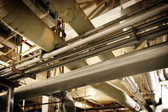 Industrial Zone pipeline Stock Images