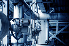 Industrial Zone pipeline Stock Photos