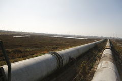 Industrial zone - water pipeline Stock Photography