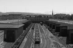 Industrial Zurich stock photo