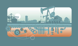 Industriale Immagine Stock Libera da Diritti