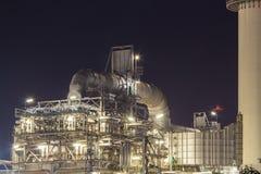 Industriale di fabbricazione dell'olio Fotografia Stock Libera da Diritti