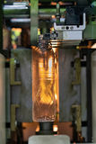 Industriale di plastica a alta tecnologia di fabbricazione della bottiglia Immagini Stock