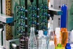 Industriale di plastica a alta tecnologia di fabbricazione della bottiglia Fotografie Stock