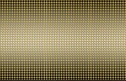 Industriale dorato dell'estratto della superficie di metallo Immagini Stock