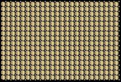 Industriale dorato dell'estratto della superficie di metallo Fotografia Stock