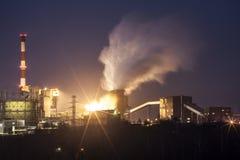 Industriale in Polonia Fotografie Stock Libere da Diritti