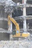 Industriale smantelli, la distruzione meccanica Immagini Stock