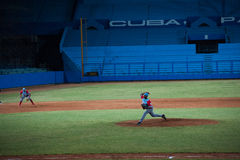Industriales. Baseball Team Stock Image