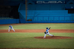 Industriales. Baseball Team Stock Photo