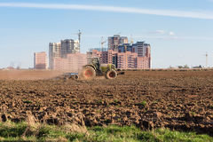 Industrialization of the vast expanses Stock Photos