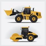 Industrias de los vehículos de la construcción Imagen de archivo libre de regalías