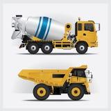 Industrias de los vehículos de la construcción Imágenes de archivo libres de regalías