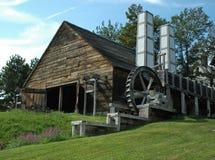 Industrias siderúrgicas de Saugus dos chimeneas Fotografía de archivo libre de regalías