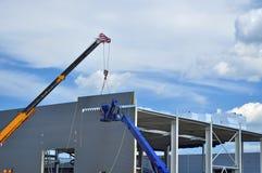 Industribyggnadutveckling Royaltyfria Foton