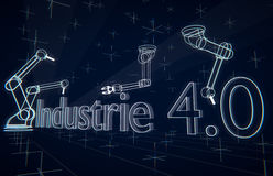 Industrie 4 Obrazy Royalty Free