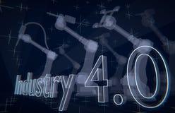 Industrie 4 Lizenzfreies Stockbild