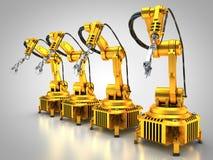 Industrie 4 Image libre de droits