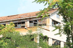 Industrie abandonnée Italie Photos stock