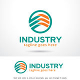 Industrie abstraite Logo Template Design Vector Image libre de droits