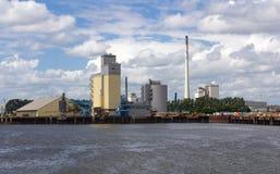 Industrie au port Photo stock