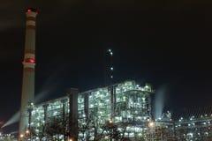 Industrie chimique Image libre de droits