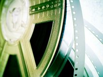 Industrie cinématographique - bobines de film Images stock