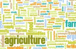 Industrie d'agriculture illustration de vecteur