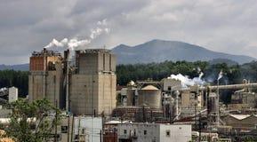 Industrie dans les montagnes Photos libres de droits