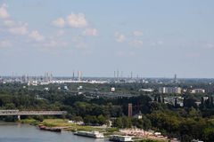 Industrie de Bratislava Photographie stock