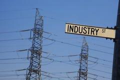 Industrie de câble Images stock