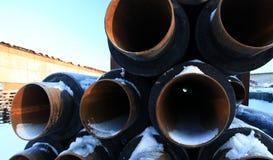 Industrie de conduit d'égout images stock