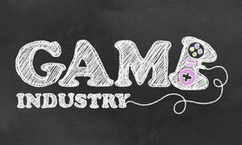 Industrie de The Game Image stock
