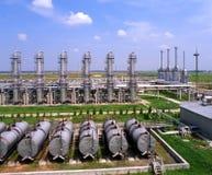 Industrie de gaz et pétrolière Photos libres de droits