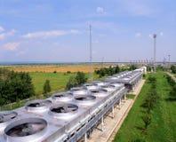 Industrie de gaz et pétrolière Photographie stock libre de droits
