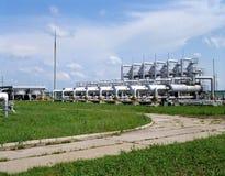 Industrie de gaz et pétrolière Image libre de droits