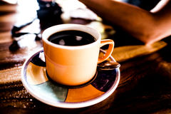 Industrie de haricots de Costa Rican Coffee Pure Coffee image libre de droits