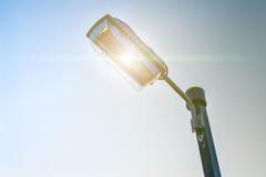 Industrie de l'électricité de courrier de lampe Image libre de droits
