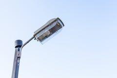 Industrie de l'électricité de courrier de lampe Photographie stock libre de droits