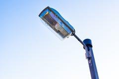 Industrie de l'électricité de courrier de lampe Photos stock